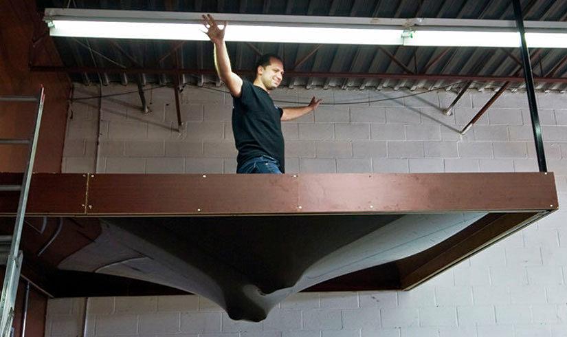 прочность натяжного потолка