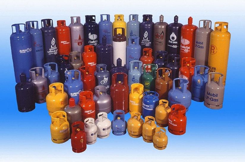 газовые металлические баллоны