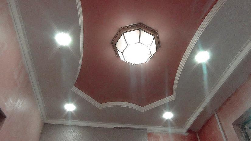 круглая люстра дл натяжных потолков