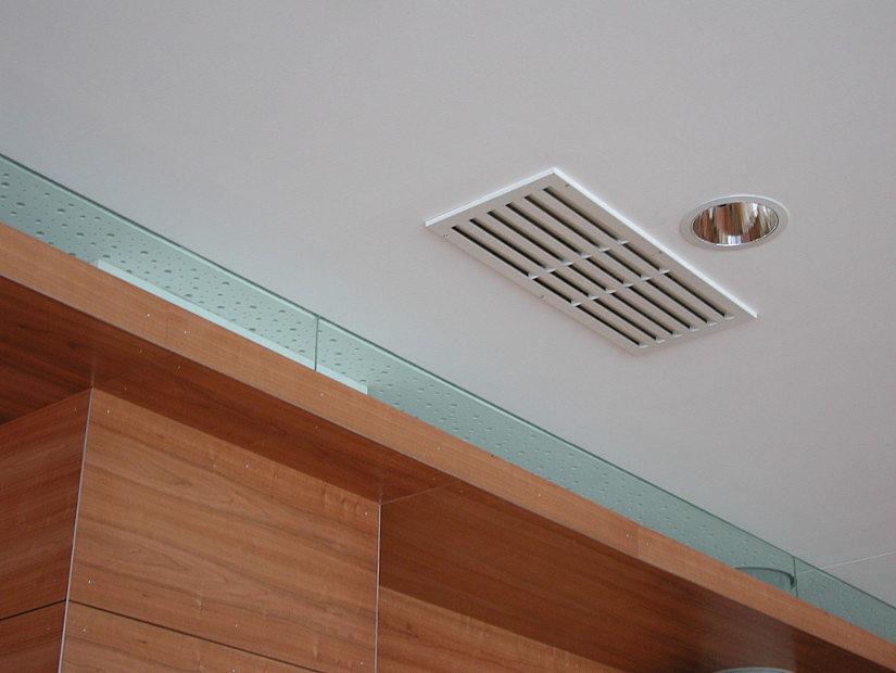 квадратная решетка для натяжных потолков
