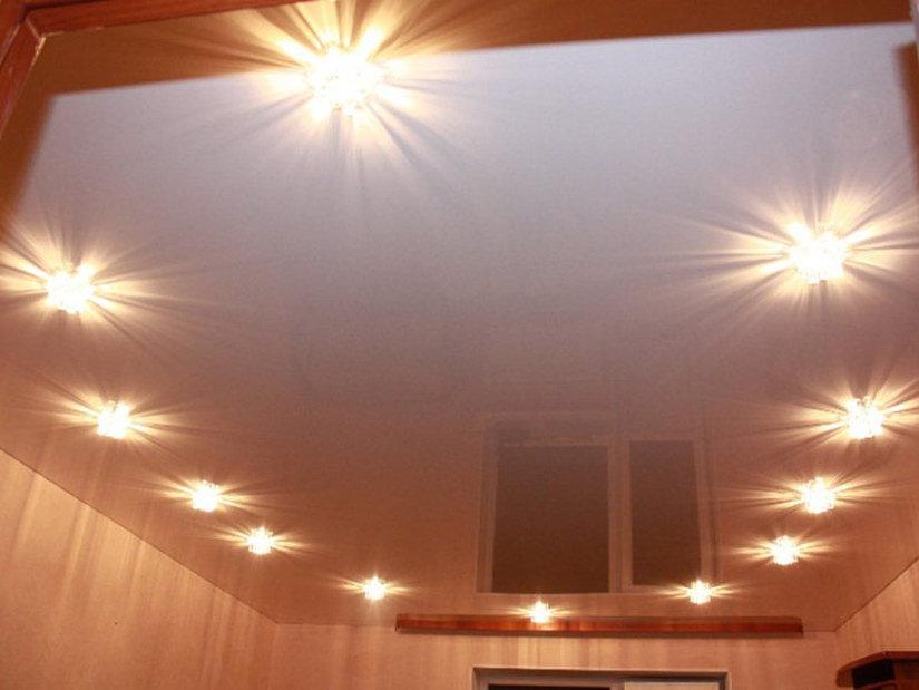 лампы накаливания для натяжных потолков