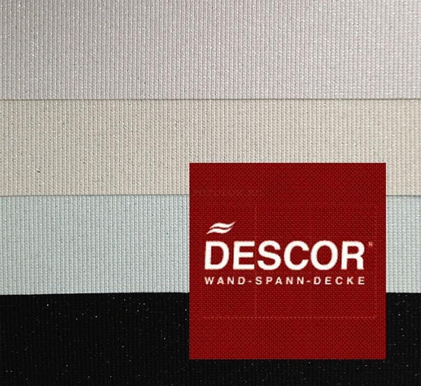 фактура и цветовая гамма потолков Дескор