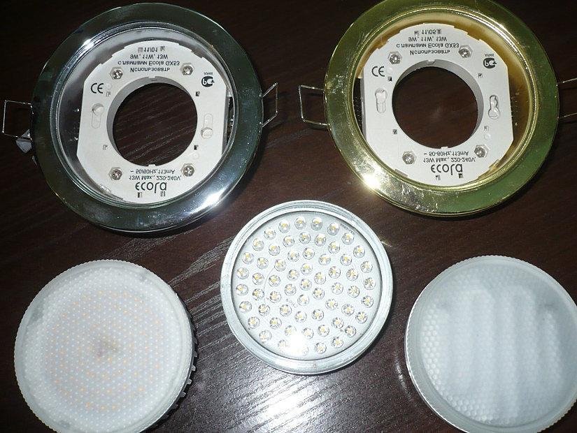 разновидности светильников и лампочек