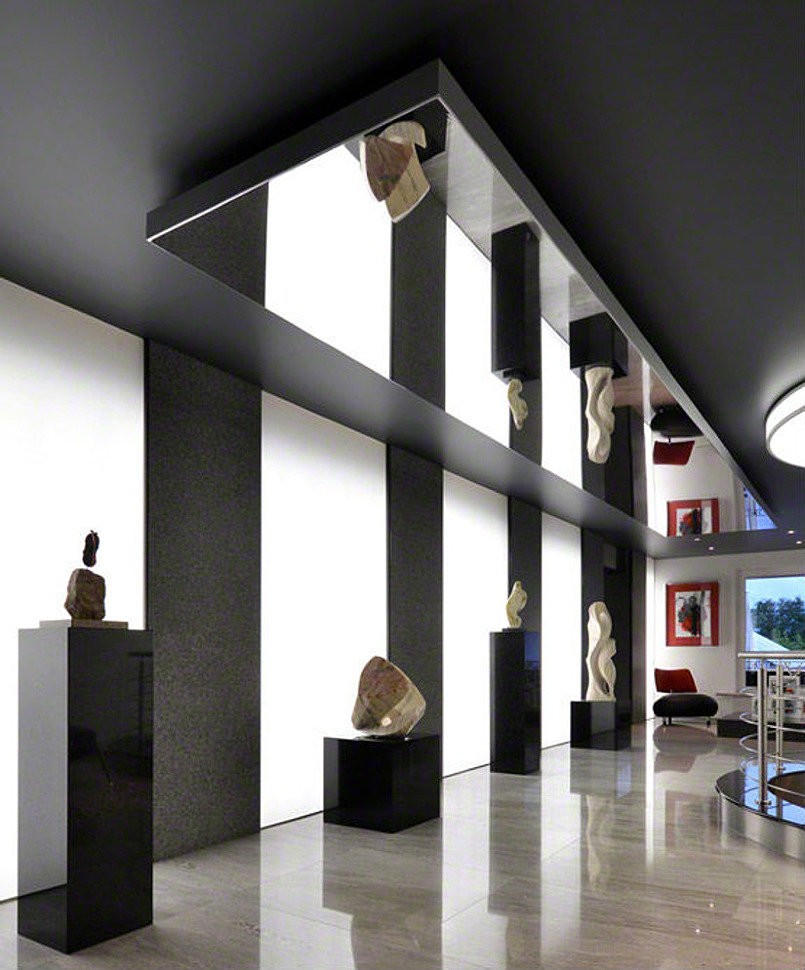 зеркальный потолок шириной 1.3 метра