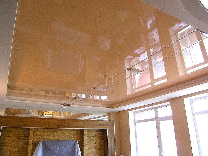 натяжной потолок из пленки ПВХ