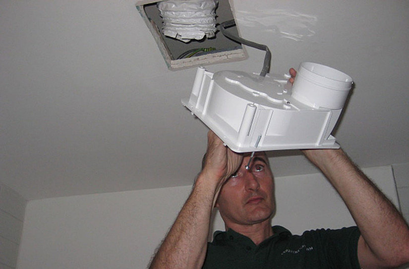 монтаж искусственной вентиляции