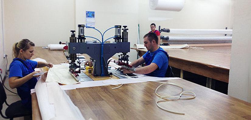 ТВЧ станок для изготовления натяжных потолков