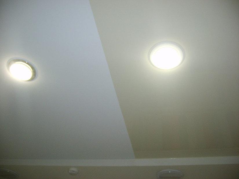 свареный натяжной потолок