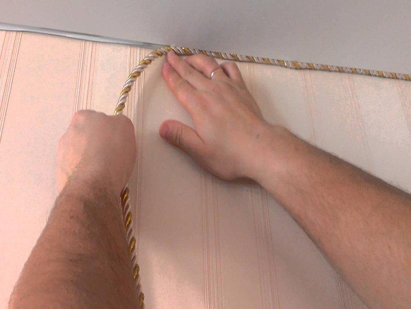 витой шнур для натяжных потолков