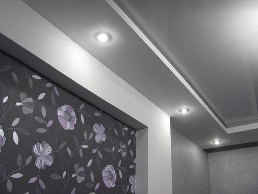 Освещение и подсветка натяжного потолка | 619x825