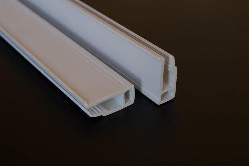 ПВХ багет-прищепка для натяжных потолков