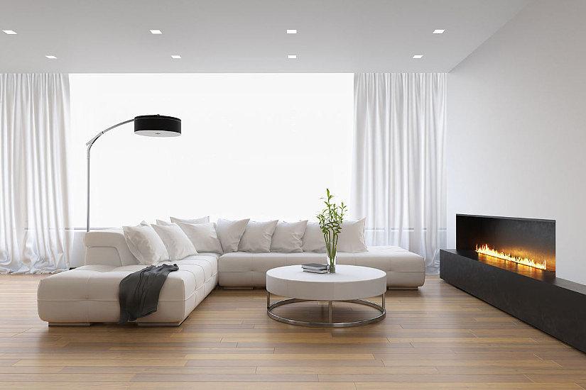 Белая поверхность отлично отражает природный и искусственный свет