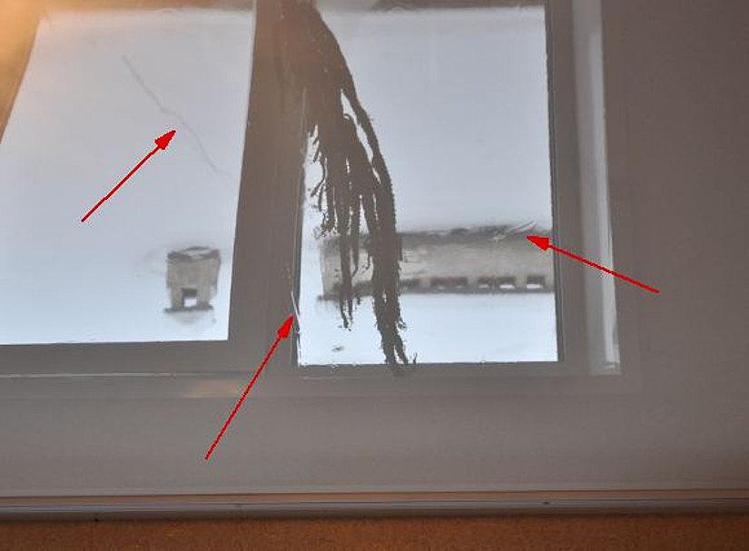 Глянцевый потолок со складками