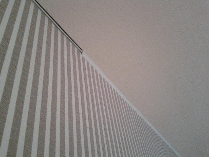 вставка на натяжном потолке