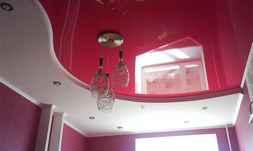 натяжной и подвесной потолок