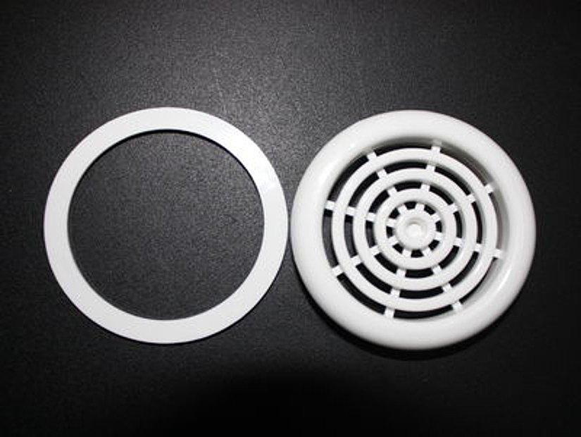 Вентиляционная решетка и термокольцо