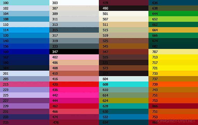 выбрать цвет натяжного потолка