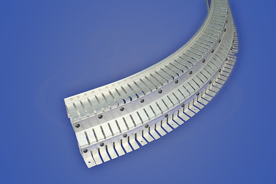 конструкция для монтажа натяжных потолков