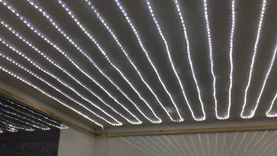 LED-панель можно использовать в качестве основного освещения