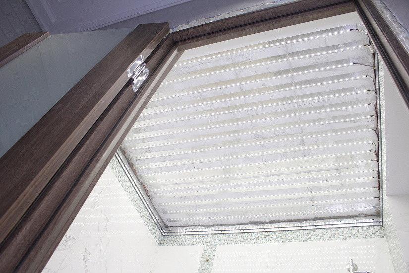 светодиодные ленты на натяжной потолок