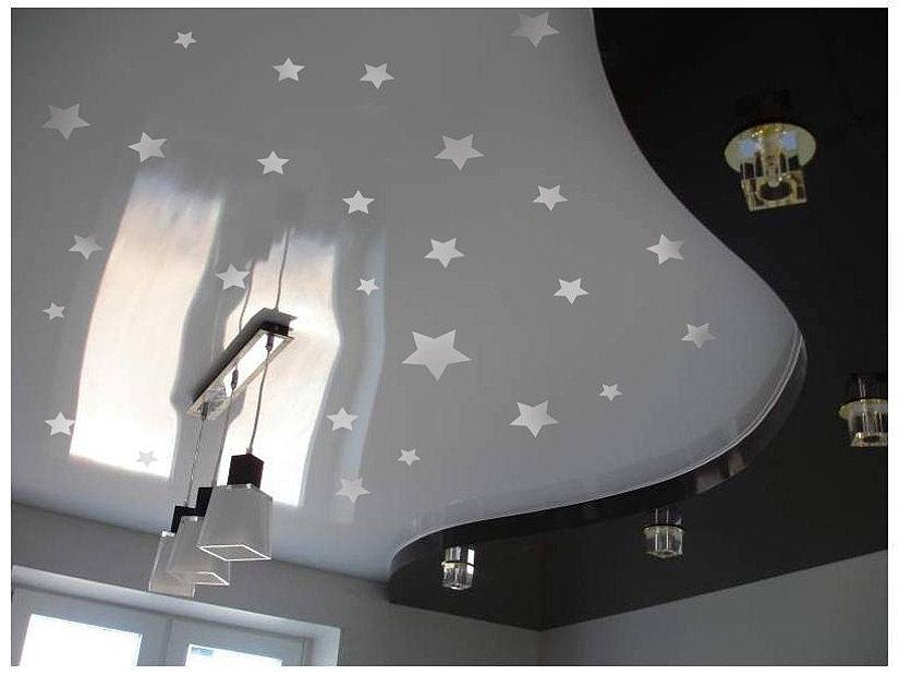 недорогой звездный потолок своими руками
