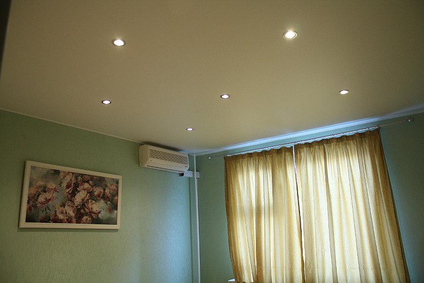 тканевый потолок Клипсо