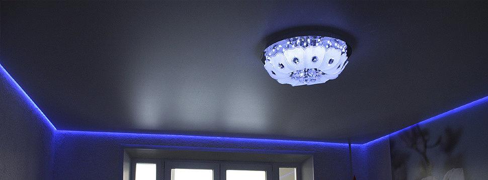 «Парящий»натяжной потолок