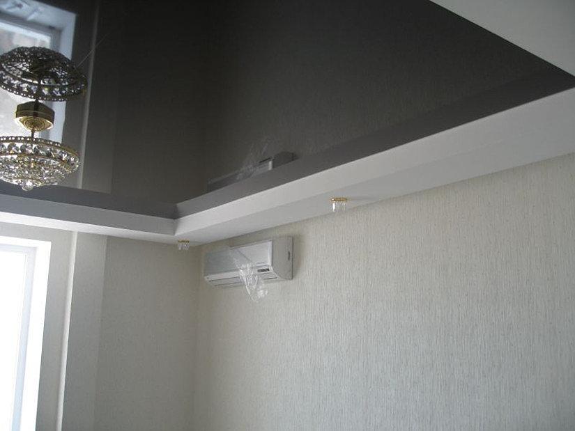 кондиционер и натяжной потолок