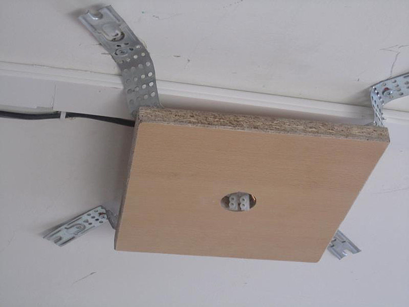 самодельная платформа для натяжных потолков