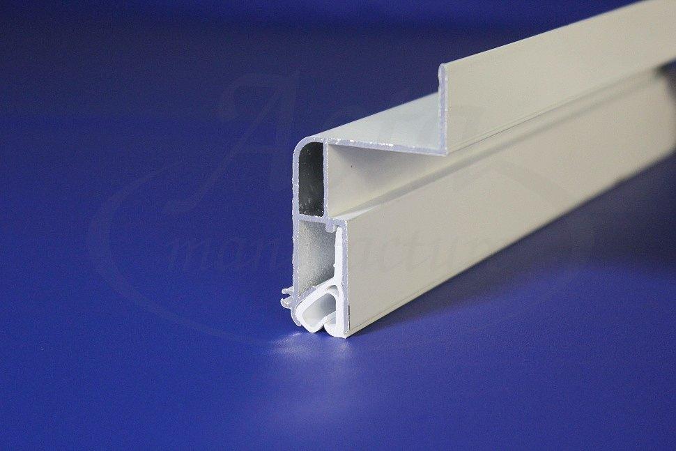 Профиль М1 для создания парящего тканевого потолка