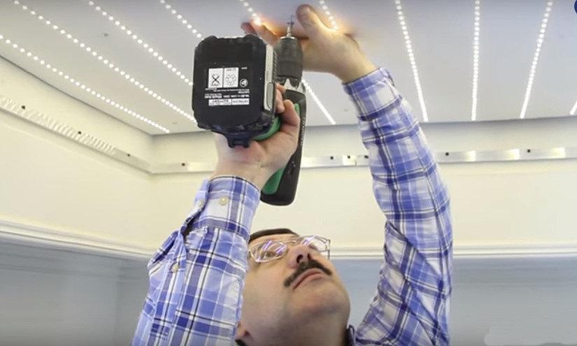 Процесс создания светодиодной панели