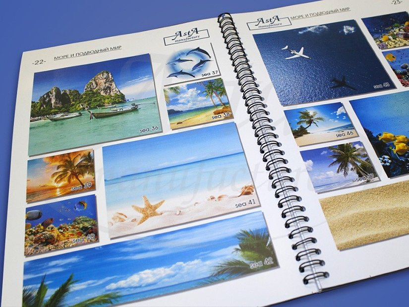 Изображения морской тематики в каталоге Аста М