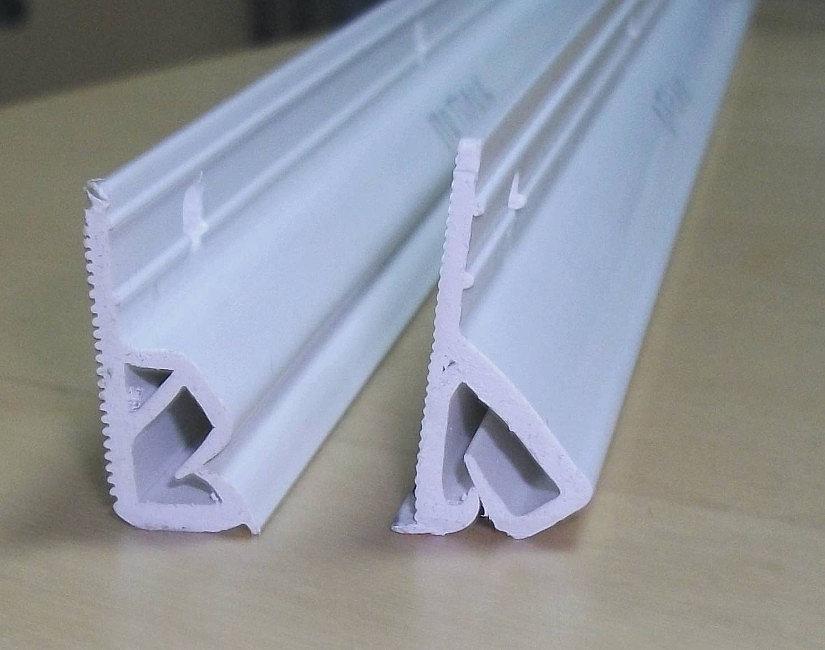 профиль прищепка для тканевых натяжных потолков