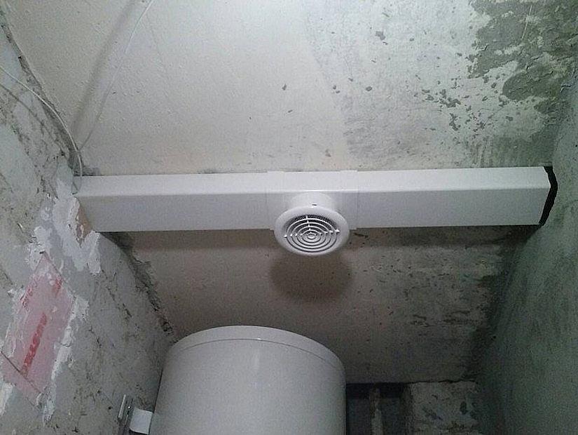 комуникации под натяжным потолком