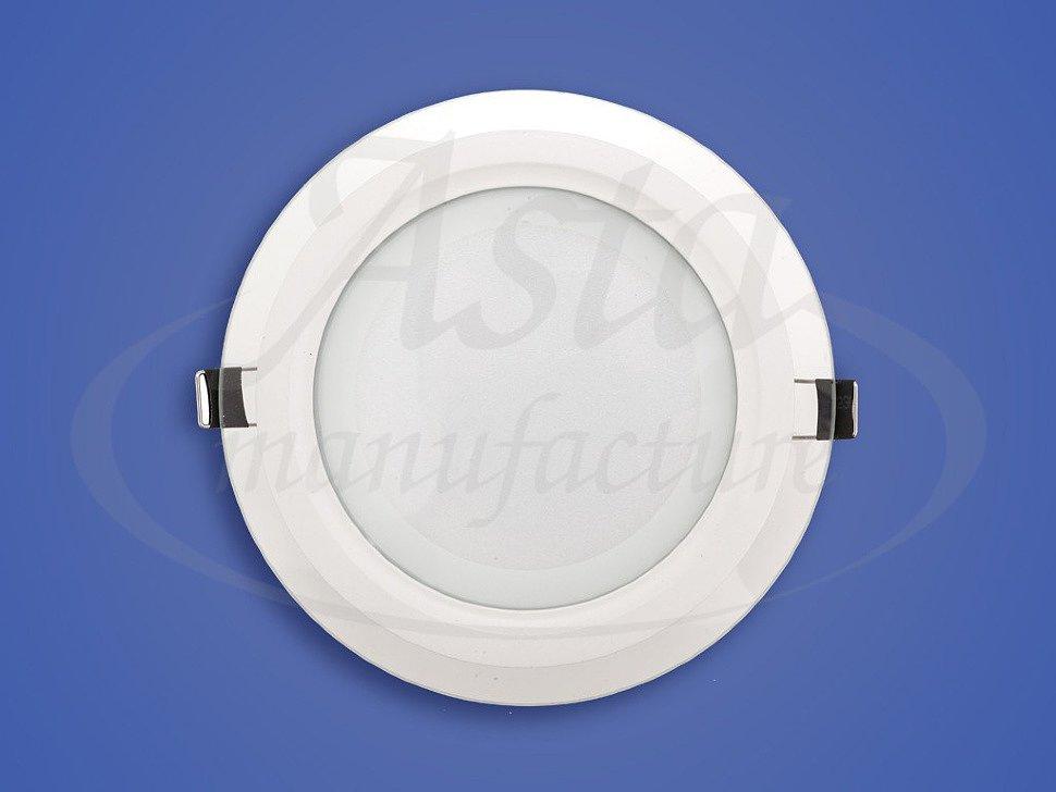 Круглый led светильник для натяжных потолков