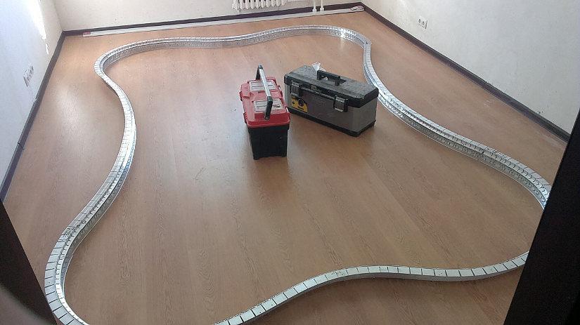 готовая конструкция для натяжных потолков