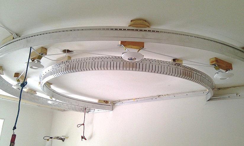 Конструкция для многоуровневого потолка