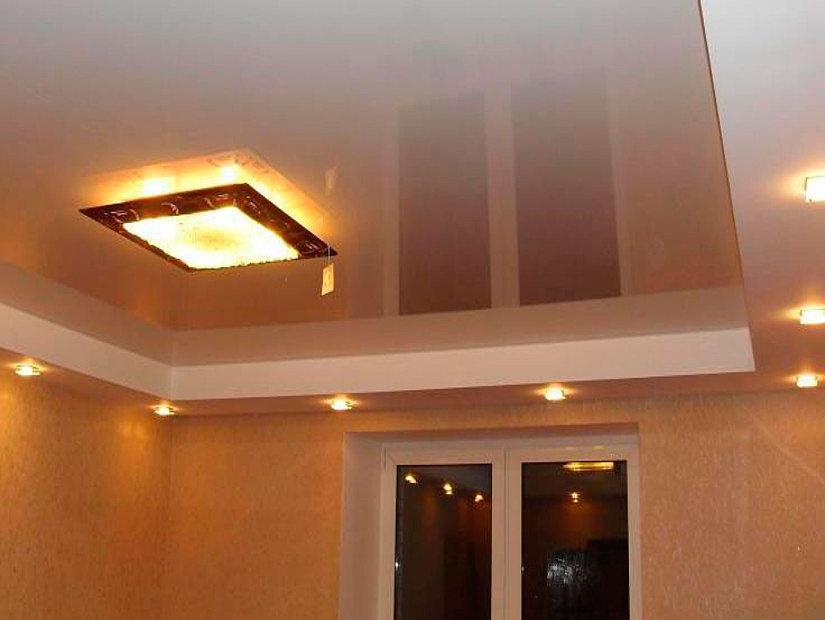 плоский квадратный светильник