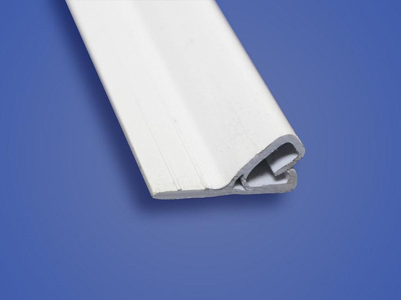 Клипсовый профиль для монтажа тканевых потолков