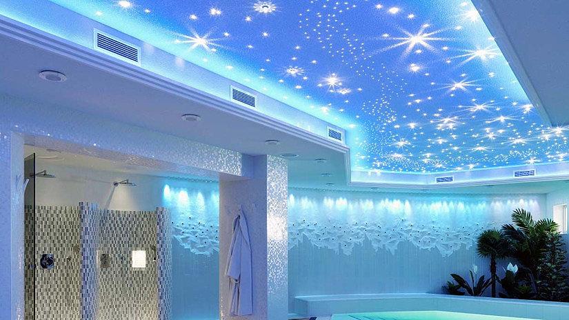 звезды на натяжном потолке