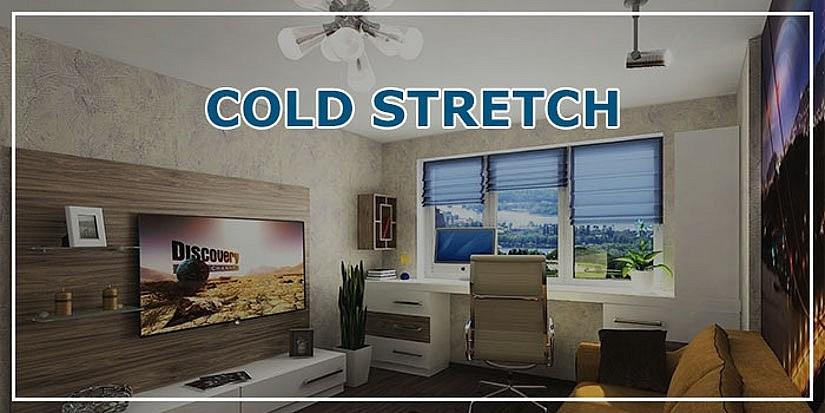 Пленочный потолок Cold Stretch