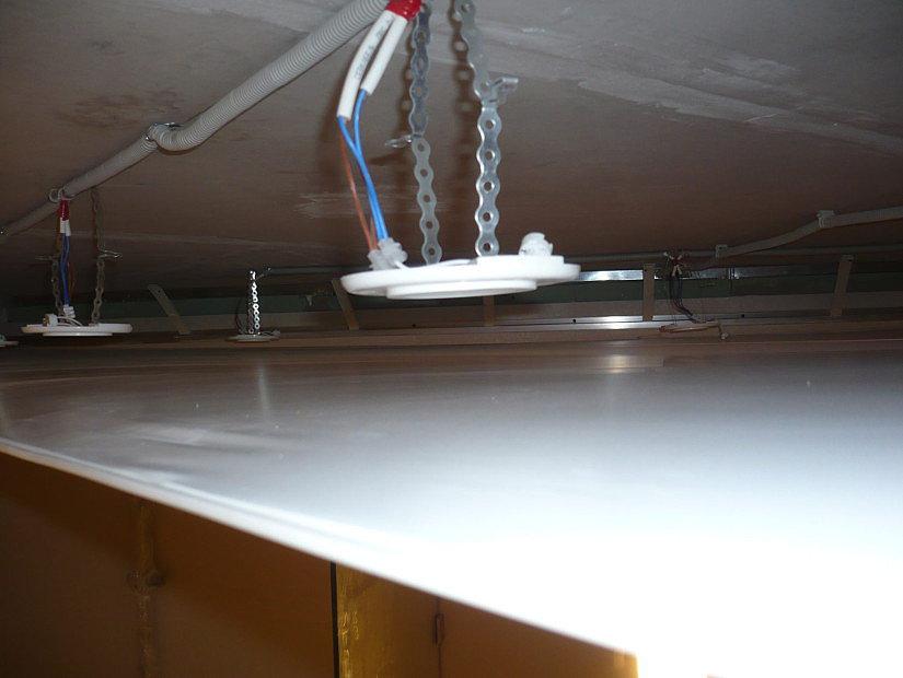 платформы на потолке