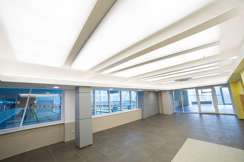 натяжной светящийся потолок