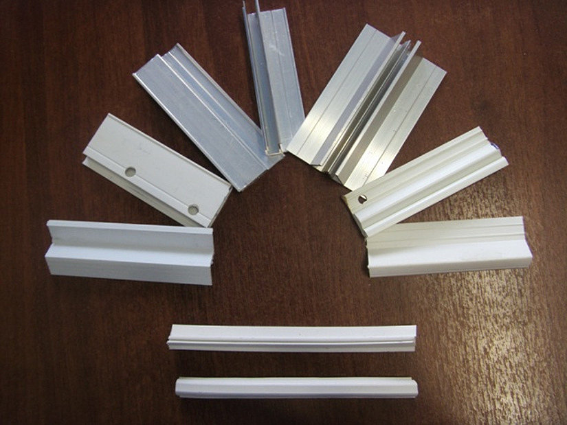 Алюминиевые и ПВХ профили для натяжных потолков