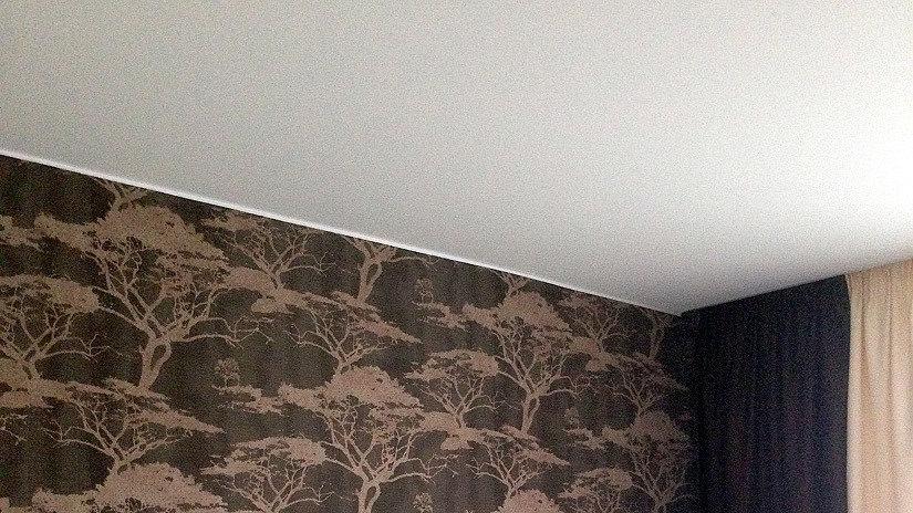 натяжной потолок матовой фактуры