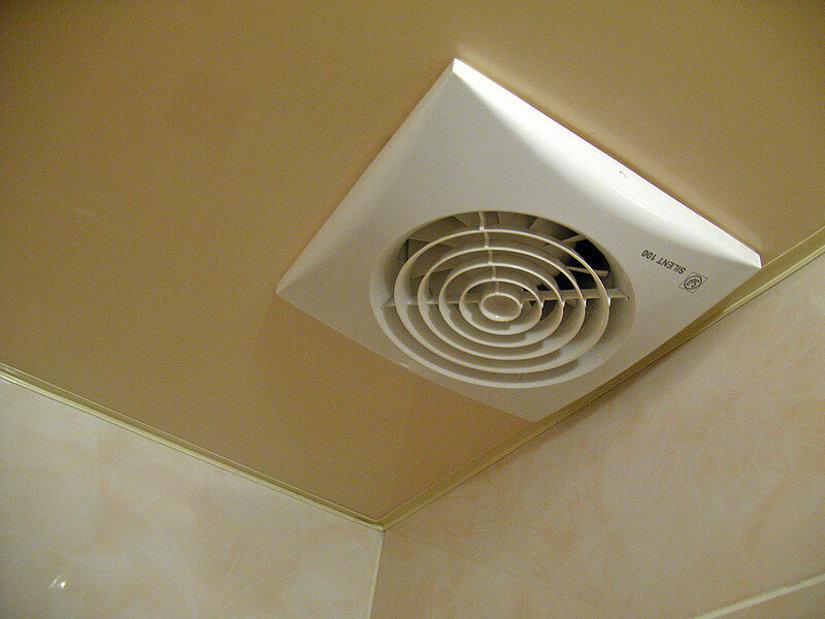 вентиляция на натяжном потолке
