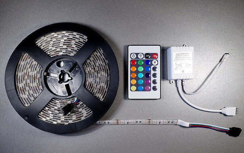 Светодиодная LED лента RGB