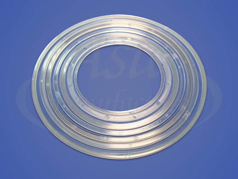 термокольца – обязательные комплектующие для монтажа ПВХ потолков
