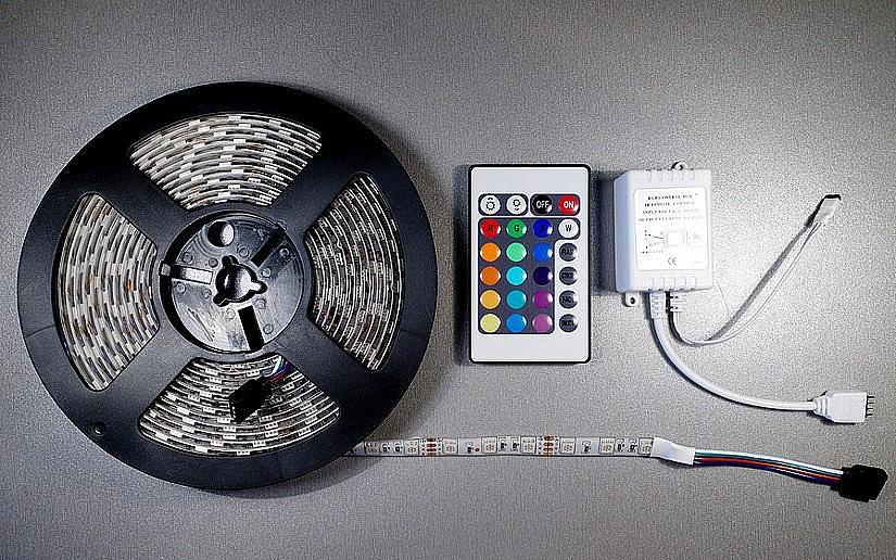 Светодиодная лента и контроллер RGB