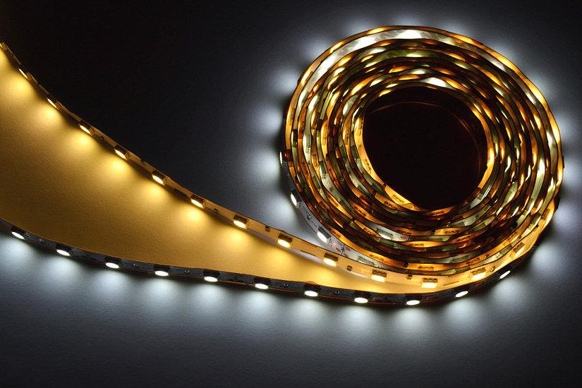 LED-лента с холодной и теплой температурой свечения